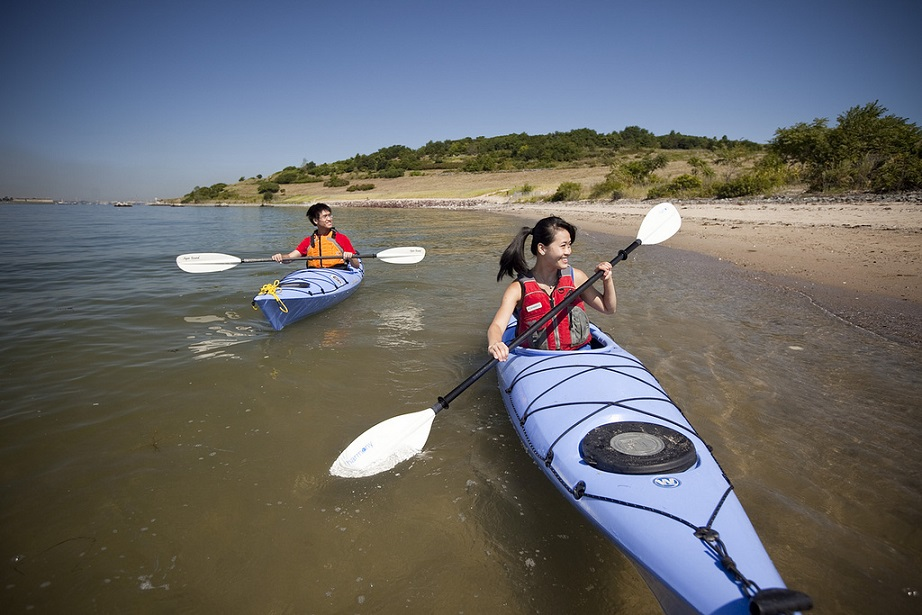 Boston Harbor Islands kayak tour