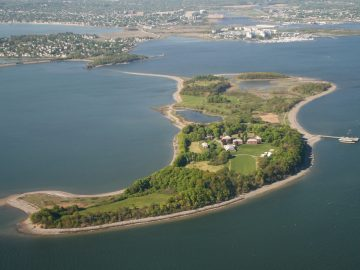 Boston Harbor Islands_Thompson Island_Massachusetts