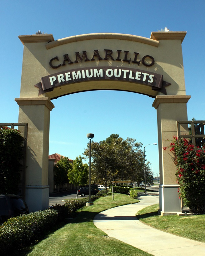 Camarillo shopping Mall LA California