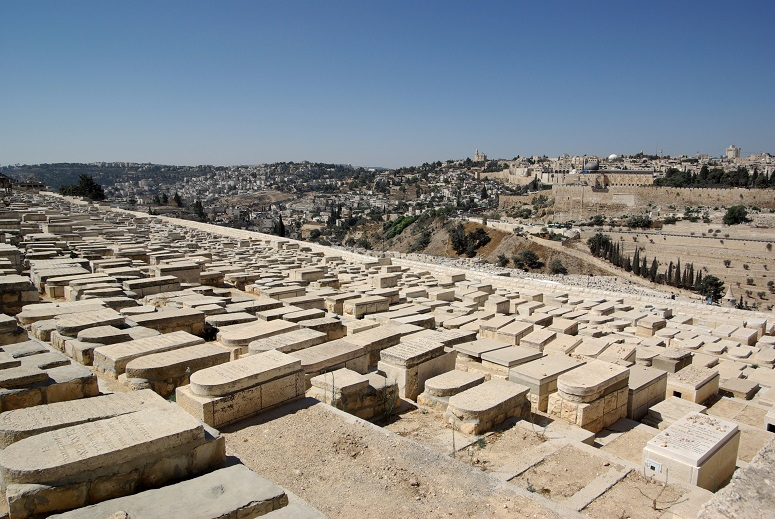 Jerusalem_Mount_of_Olives_Jewish Burial Sites