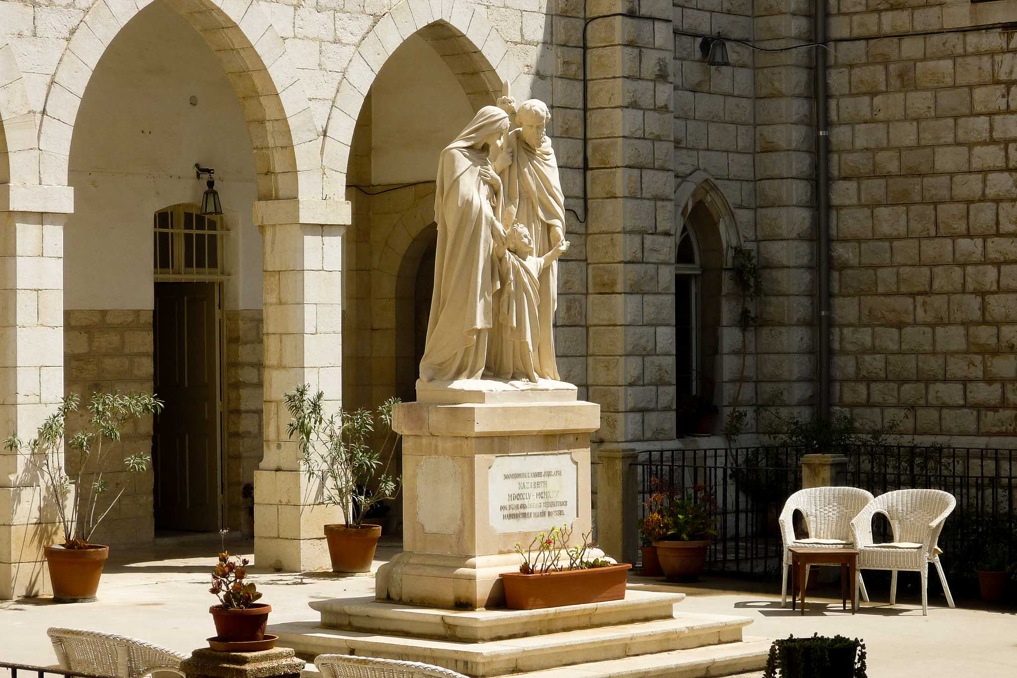 Sisters of Nazareth Convent, Israel. Monastery Stays Which Brings Wanderlust