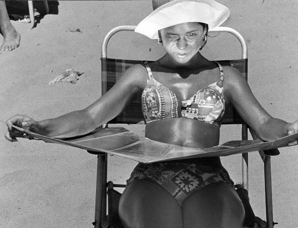 Sun tanning_Harry Lapow_1965_Klotz Gallery_NY