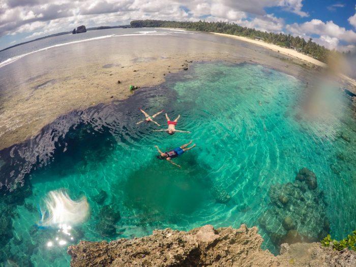 Magpupungko Tidal Pool, Siargao