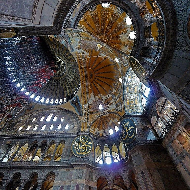 Hagia Sophia interior_Istanbul
