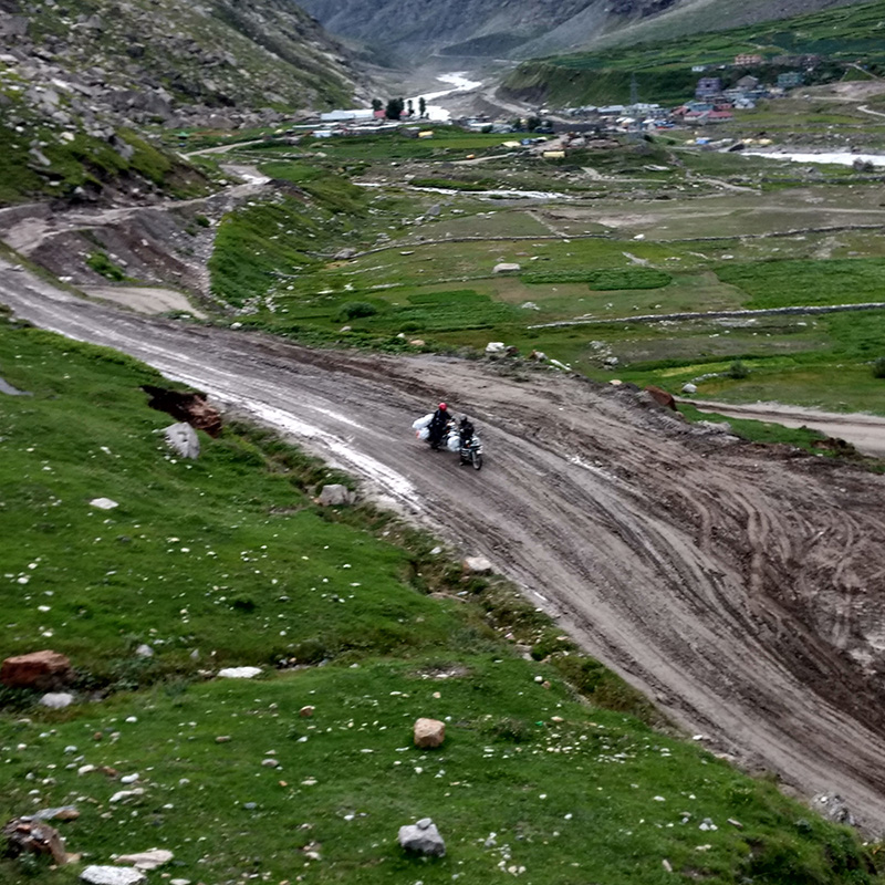 Manali Leh Highway India