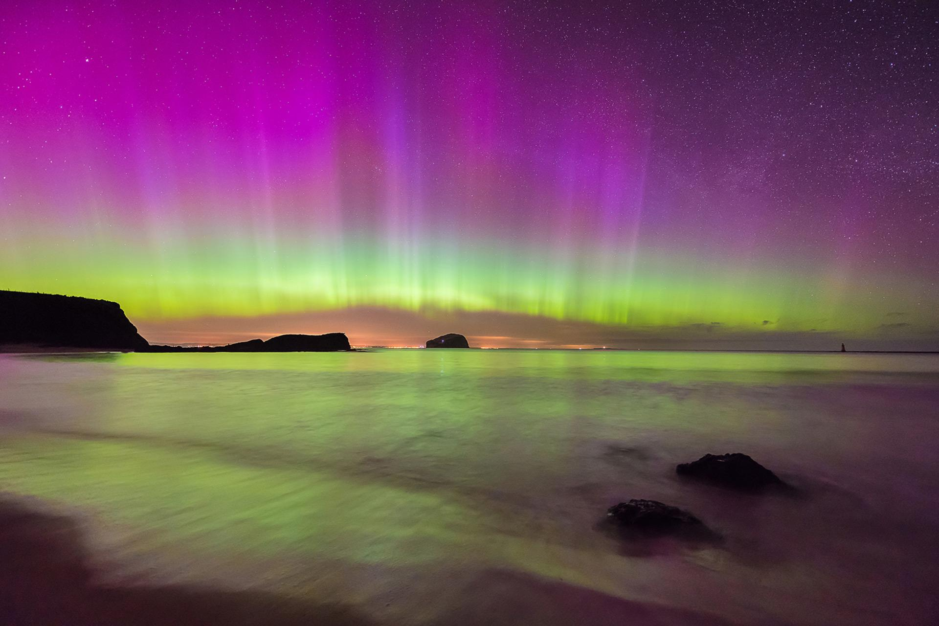 Northern Lights_Aurora Borealis_Scotland