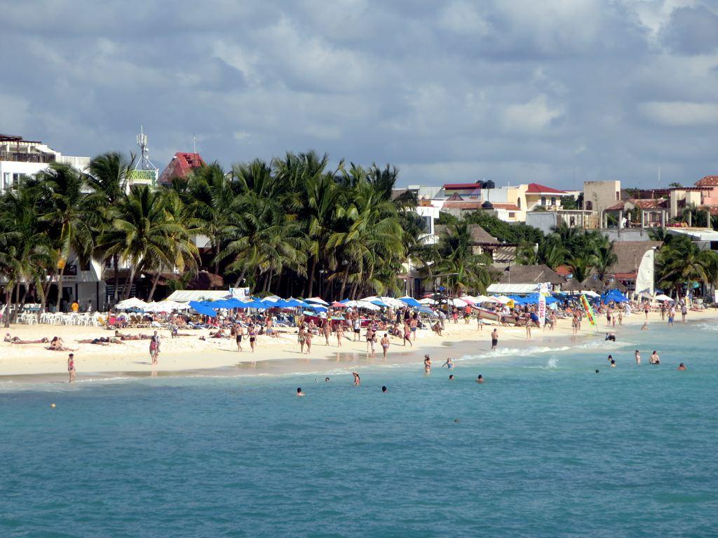 Playa del Carmen Mexico. Playa beach