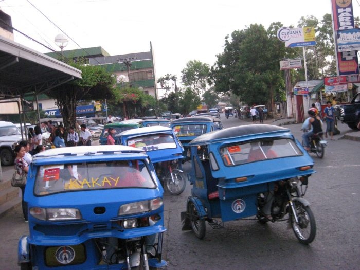 Puerto Princesa tricycles