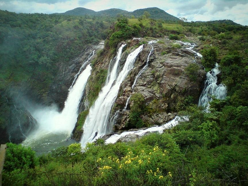 Shivanasamudra_falls_Karnataka_India
