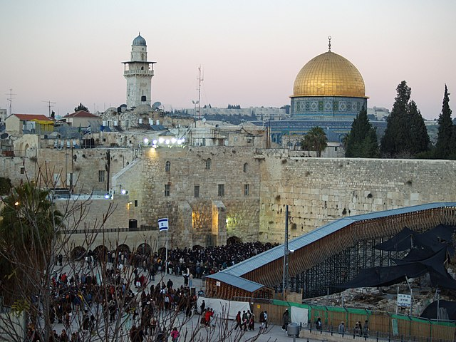 Temple_Mount_Western_Wall_Jewish Holy Lands Sites