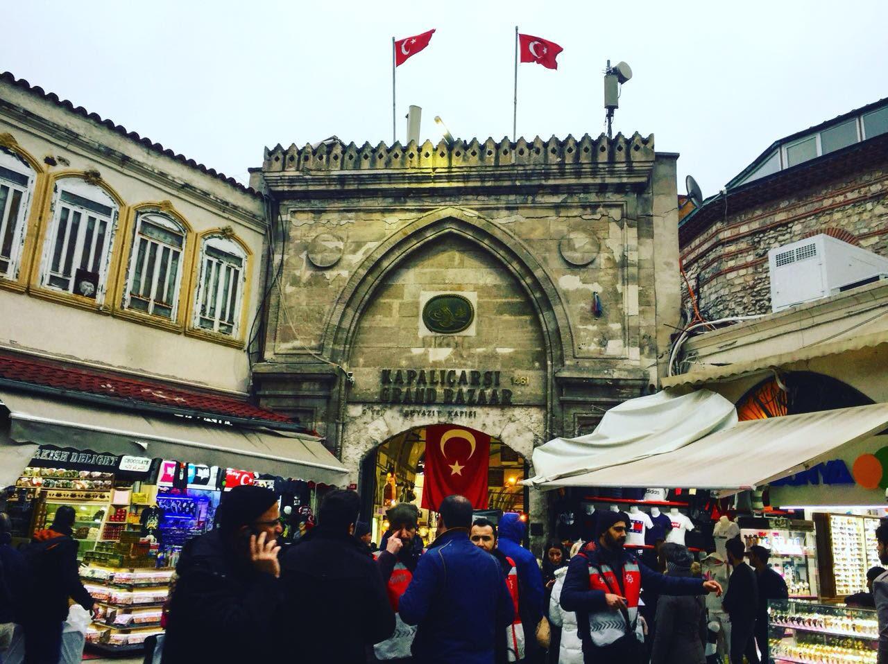 Grand Bazaar, Sultanahmet, Istanbul, Turkey