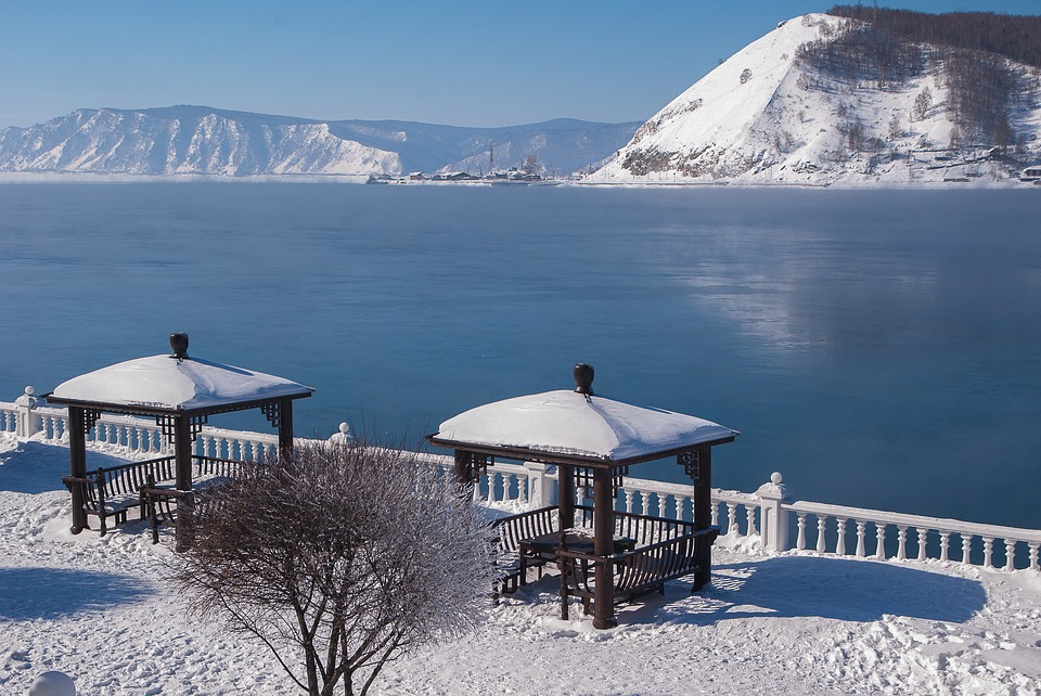 Siberia Lake Baikal Irkutsk_one of the deepest and purest lake in the world.