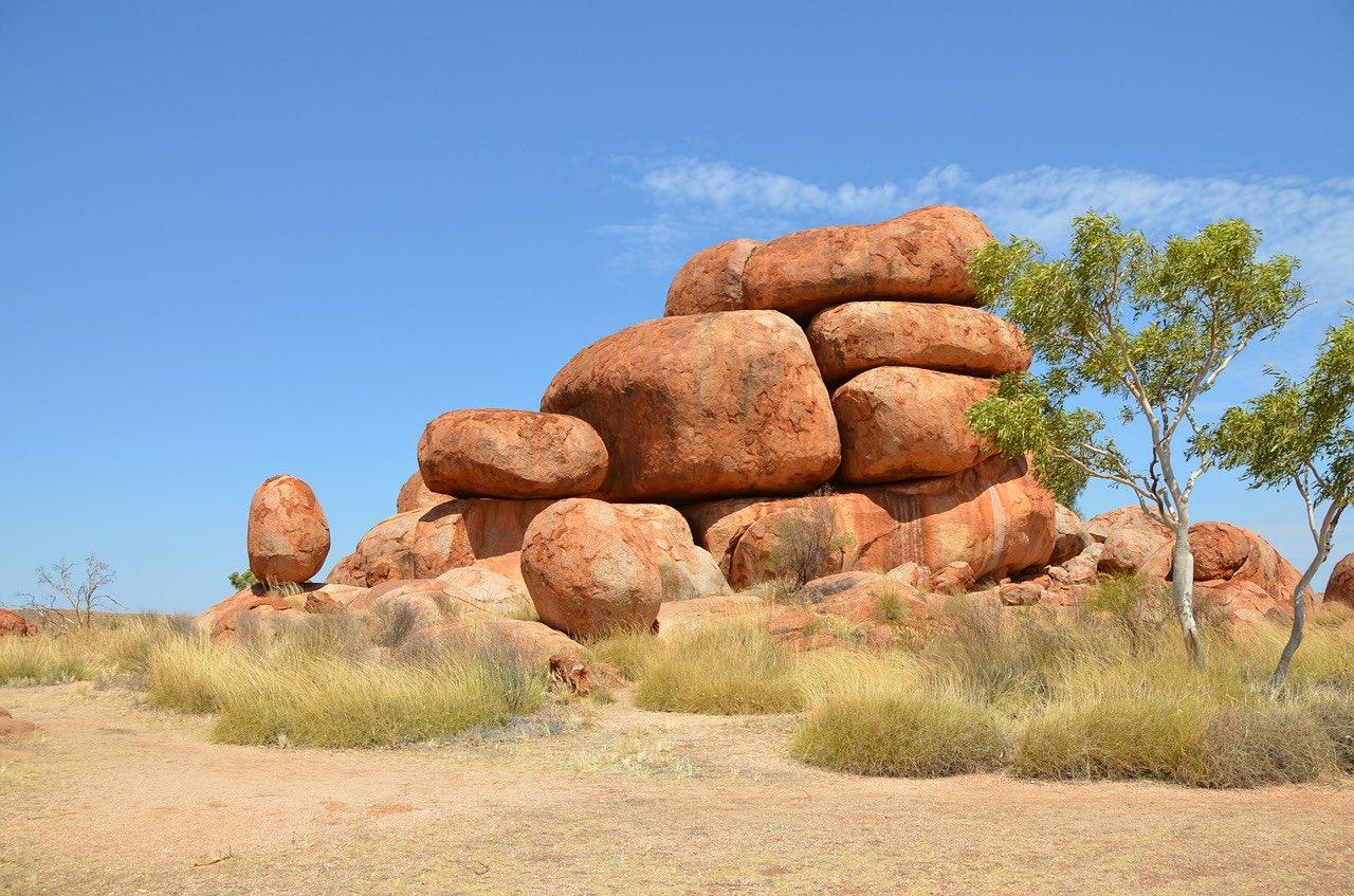 Devils Marbles_Karlu Rocks_Australia_PD