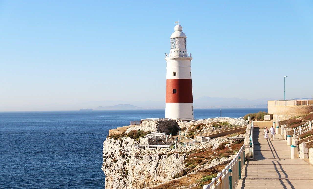Gibraltar Lighthouse_Europa Point Lighthouse_PD