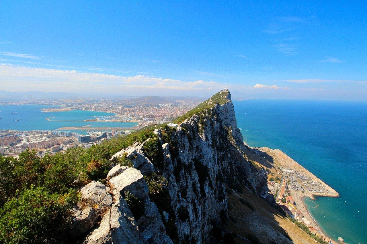 Gibraltar Rock_Mediterranean Coast_Europe_PD