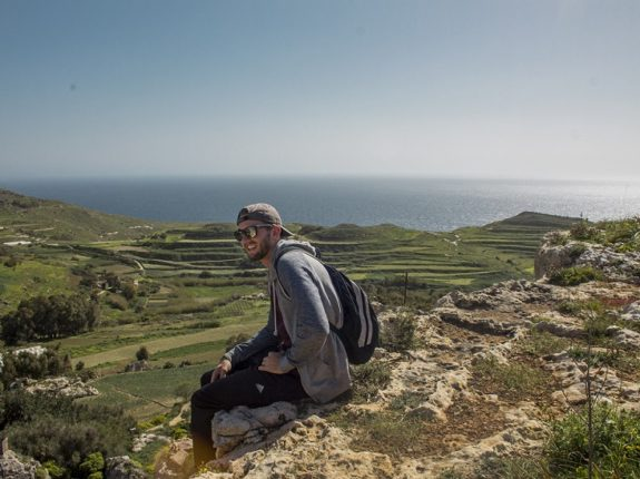 Hiking in Malta