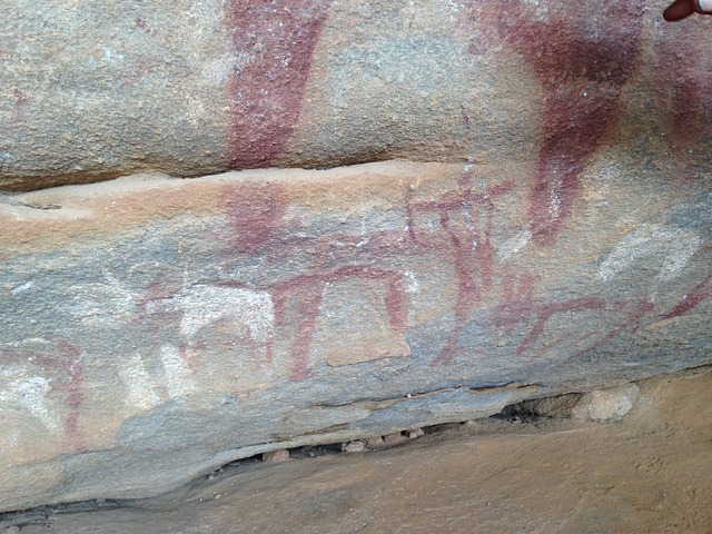Laas Geel Cave Paintings_Prehistoric Cave_Somaliland_Africa_PD