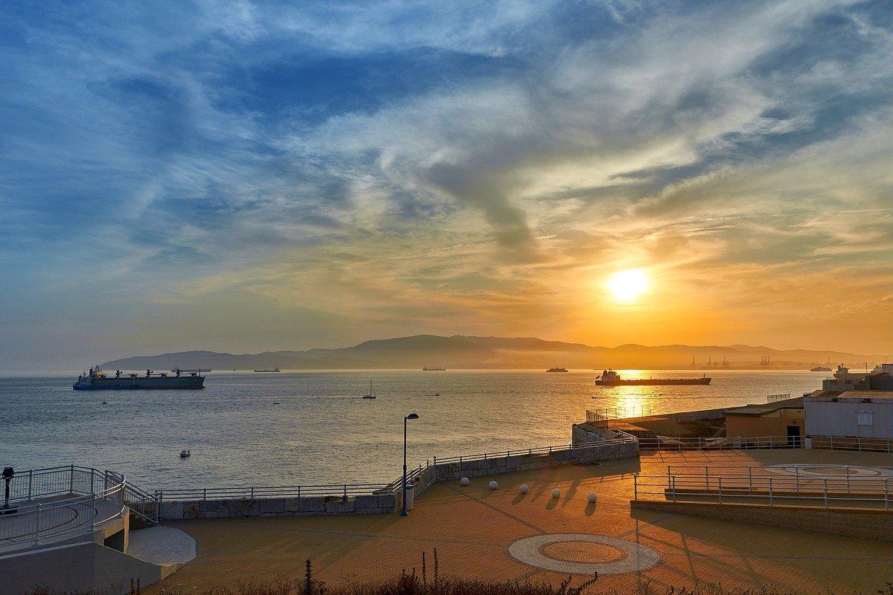 Sunset in Gibraltar_PD