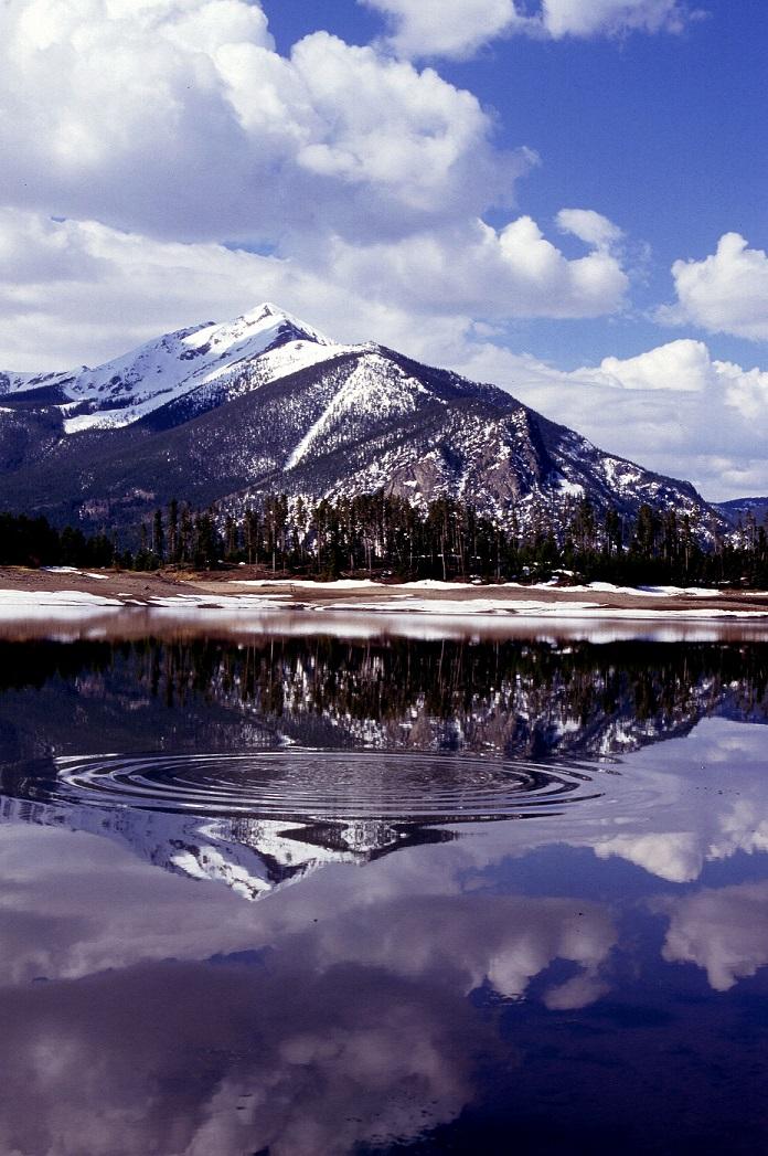 The Rocky Mountains in Colorado