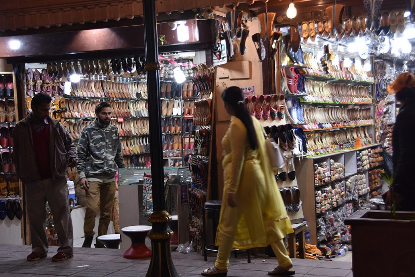 Juti store in Amritsar shopping market
