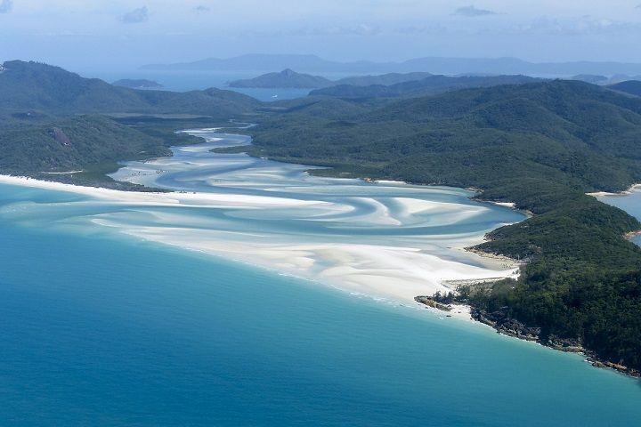whitehaven beach_best places to camp in Australia