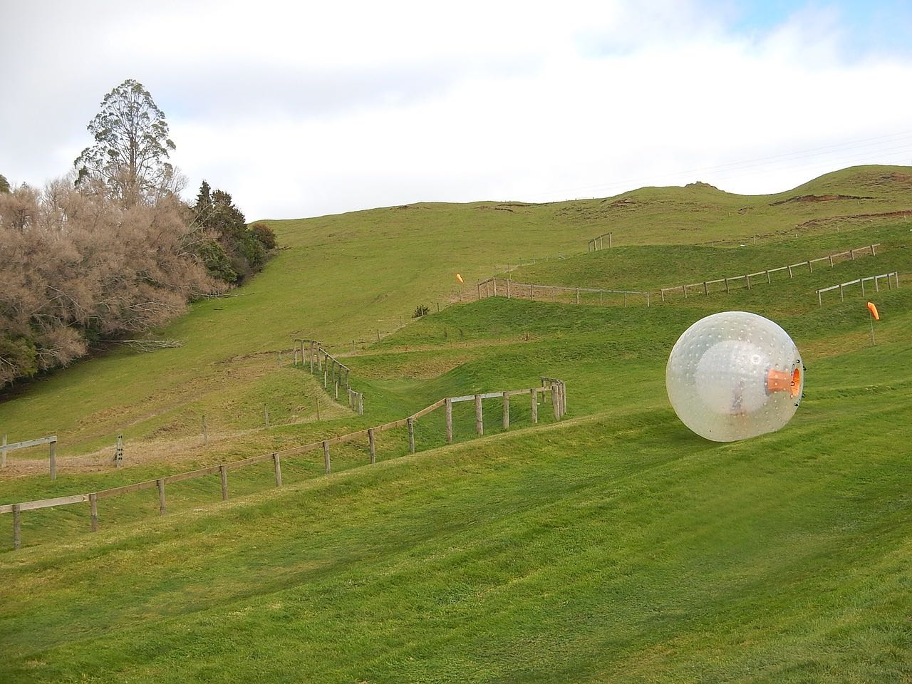 zorb_zorbing_on a hill_PD