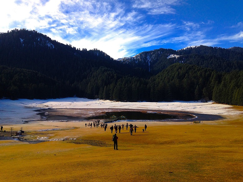 khajjiar_lake_Himachal Pradesh India