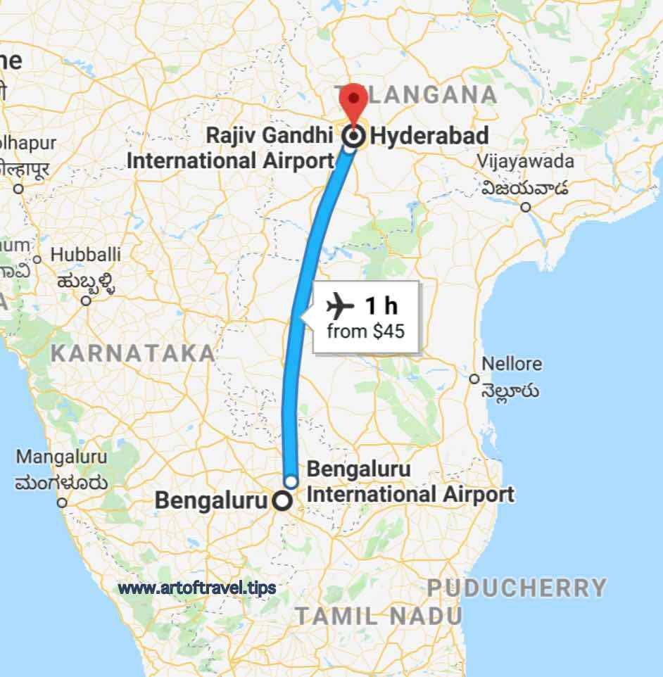 Bangalore to Hyderabad_All India 29 States Road trip by car or bike