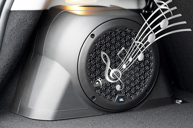 car speakers sound music_PD