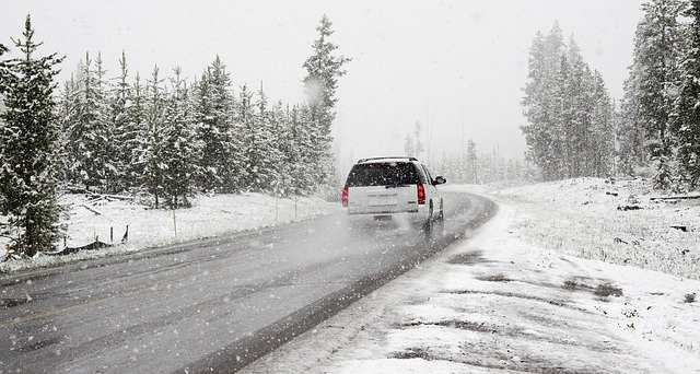 winter road trip in snow_PD
