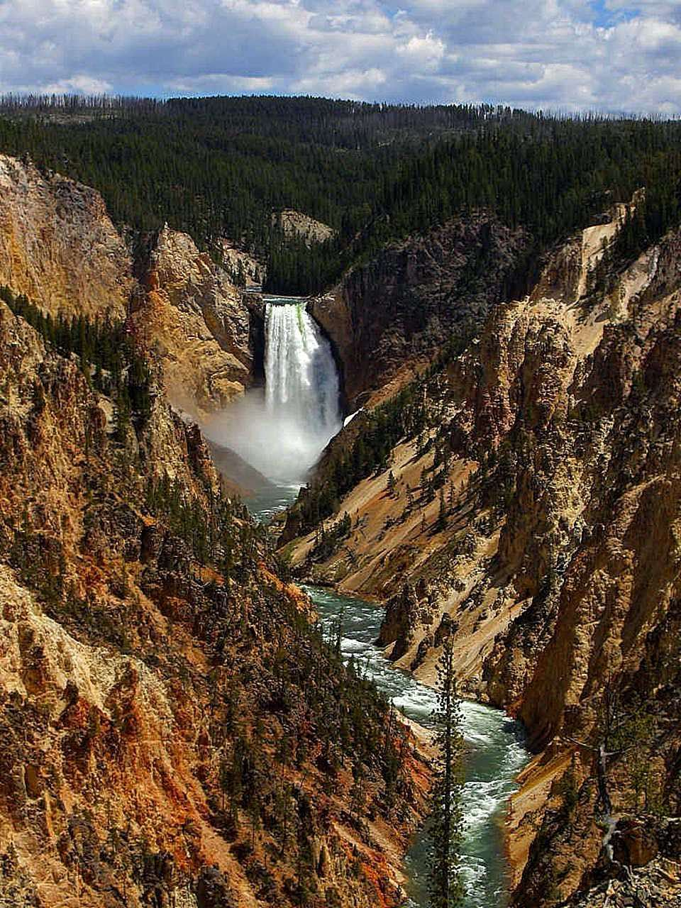 Grand Canyon of Yellowstone_PD