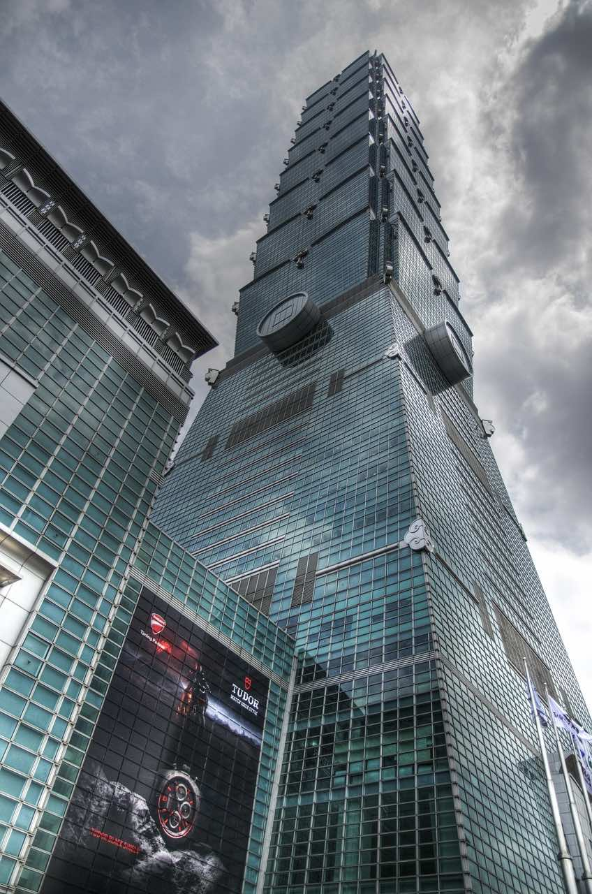 Landmark Building Taipei 101 in Taiwan PD