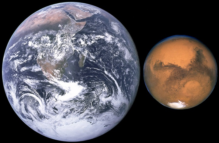 comparison-of-earth-and-mars_Mission Impossible: A Tour to Mars