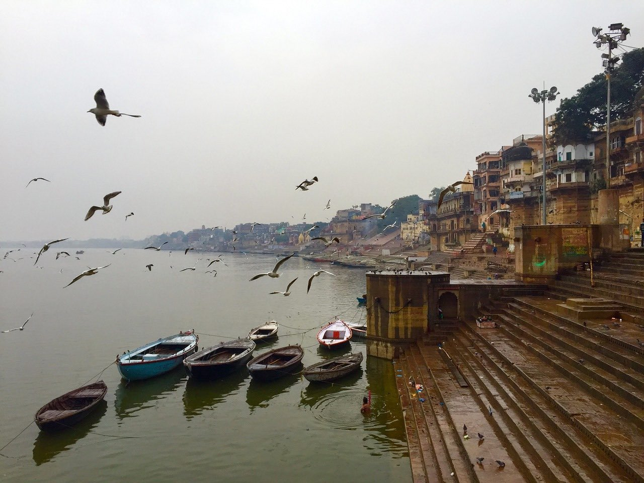 Ghats of Varanasi_India_PD