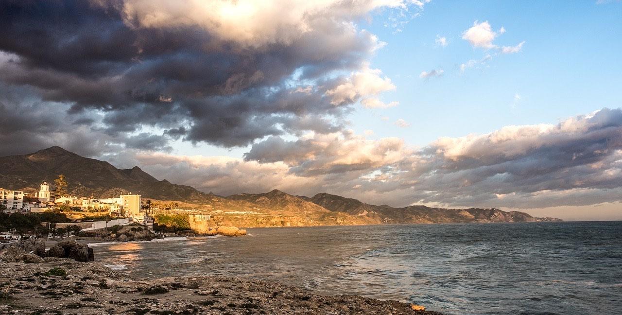 Nerja Malaga sunset_PD