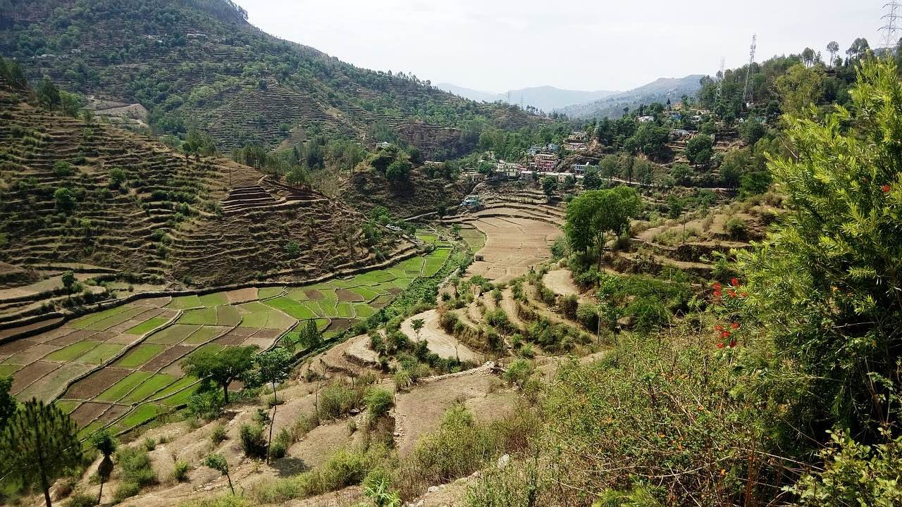 Uttarakhand_village_India_PD