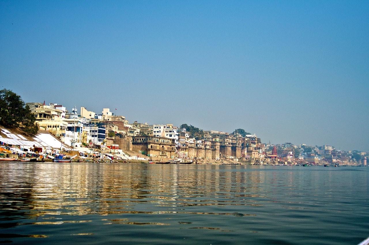 Varanasi ghats_Uttar Pradesh_India_PD