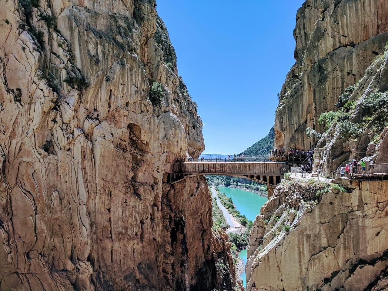 path-of-the-king, rock climbing in Malaga_PD