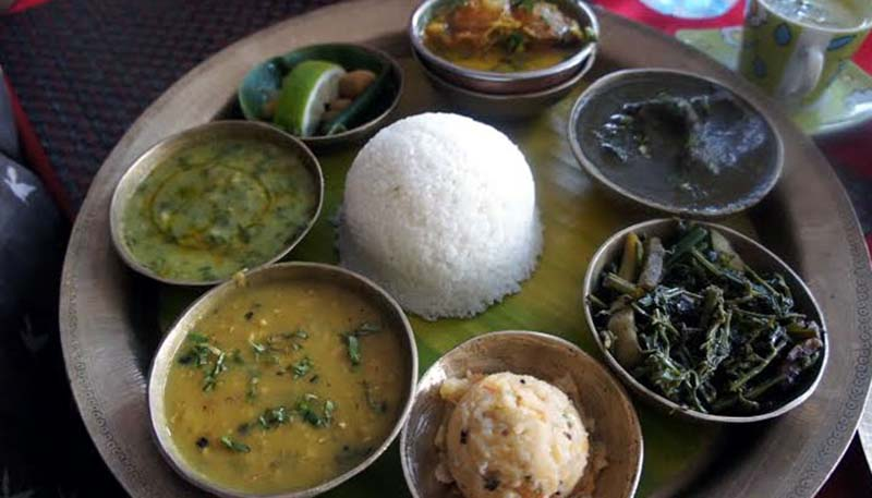 An Assamese Thali_Meal Combo_Assam_CC0