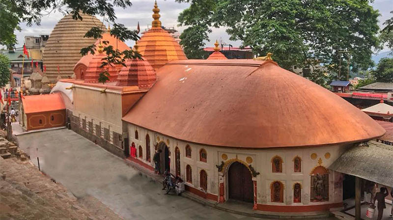 The famous Kamakhya Temple_Assam_CC0