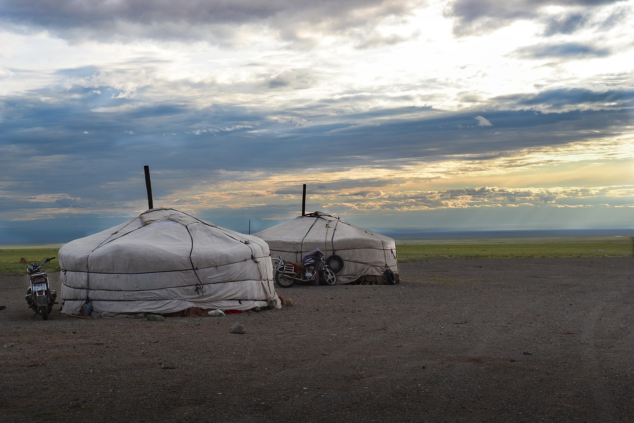 Mongolia-yurts_Nomad travel personality type_PD
