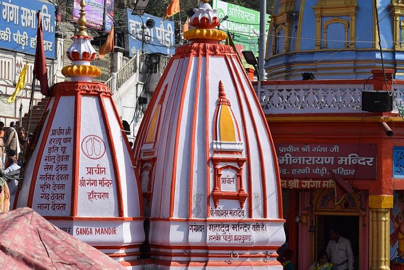 Ganga temple Haridwar_India_PD