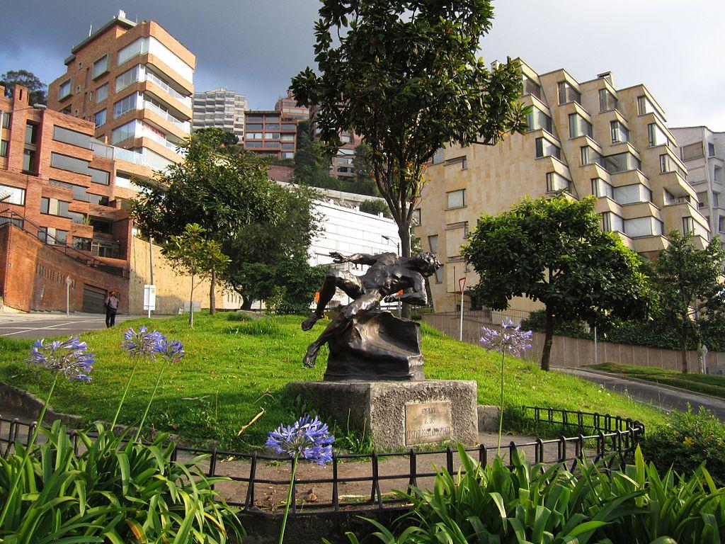 Parque 93_Bogota_Monumento_Homenaje_a_Galan_CCBYSA3.0