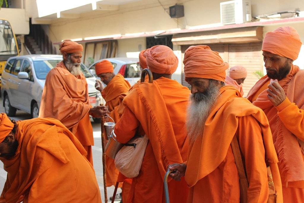 Sadhus in Haridwar_India_PD