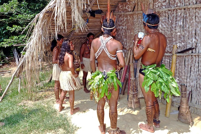 amazon rainforest indian tribe_PD