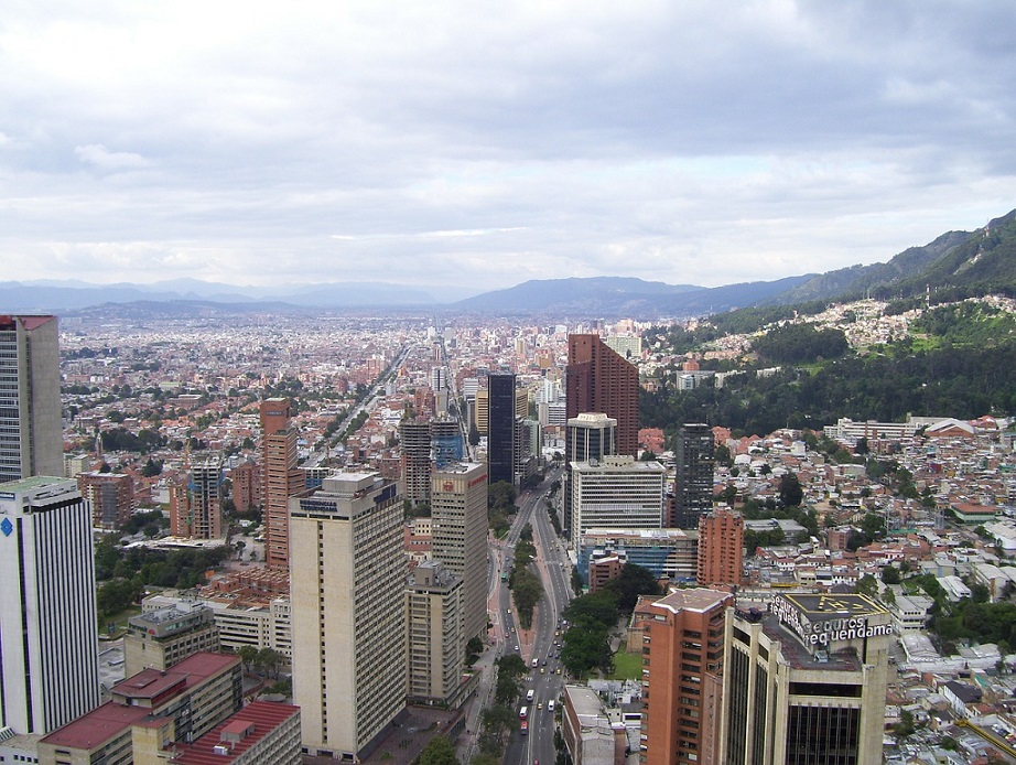 bogota city view colombia_PD