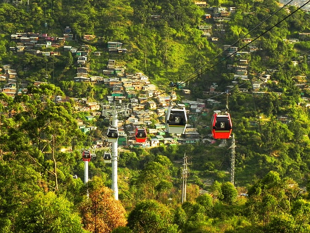 cable car medellin_colombia_PD