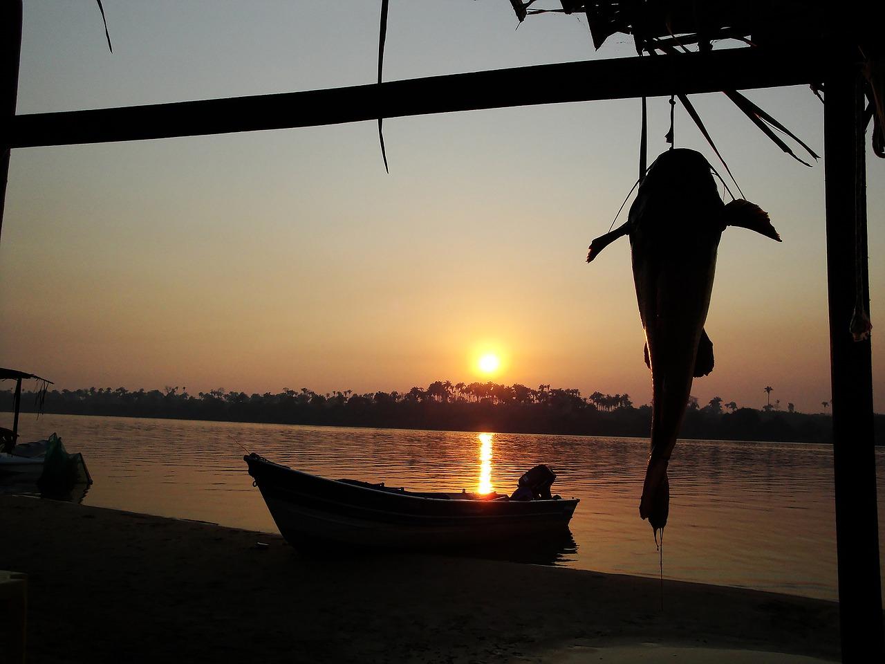 sunset_rio_sol_amazon_fishing_PD