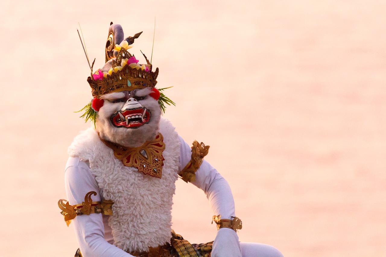 Bali_Monkey God Hanuman_Indonesia_Hindu_PD