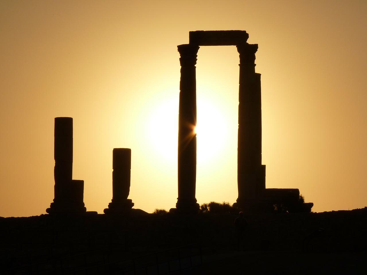 Citadel Hill Amman Jordan Ruin_PD